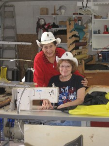 Betty and Jody at E-Z Touring Motorcycle Covers for BMW and Harley-Davidson