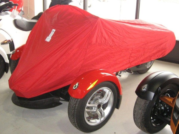 E-Z Touring Motorcycle Covers SPYDER RED