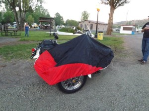E-Z Touring Motorcycle Covers for Sidecars